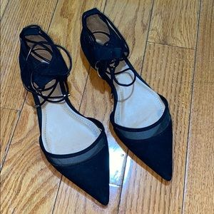 Zara basic collection flat sandals